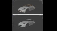 blenderで車のモデリングをしました。 初心者でただ形を作ってみただけなので、よりリアルにするにはこれからどうすればいいかわかりません。 質感とか曲線とかどうすればいいのかもわかりません。 参考になるサ...