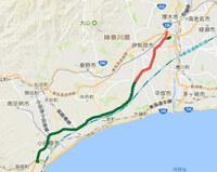東名高速道路を小田原・熱海経由で建設するとどのようになっていたと思いますか?