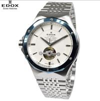 腕時計について相談です エドックス 腕時計 85024-3BUM-AIN デルフィン オートマティックの見た目が気になり、購入しようか迷っていますが、この腕時計について口コミや評判等を教えていただきたいです。 現在、43㎜のダイバーズを使用しているのでサイズ的には問題ありません。