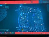 プレイステーション4 プレステ4 PS4のスパイダーマンで、地図上において電波塔制覇したのに真ん中のあたりだけモヤモヤ(街が無い)したままです。なぜでしょう?