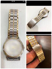 詳しい方にご質問です。 この腕時計ブレスはどこのブランドのブレスなのですか? どうしても欲しくて探しています。 詳しい方、ご回答よろしくお願い致します。