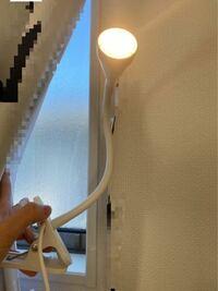 こういう感じのクリップバサミ型のライトをベット脇に置くライトとして使いたいんですけどどこに挟めばいいのでしょうか?