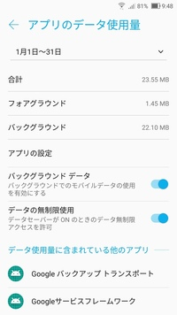 Googleplay開発者サービスというアプリがバッテリーを食ってるようです。 アプリ情報を調べたところこの2つの項目がONになってるのですが、OFFにした場合はスマホを使う上で不具合出ますか? バッテリー消費自体...