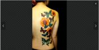 画像はボディーペイントと本物のタトゥーのどちらだと想像しますでしょうか?