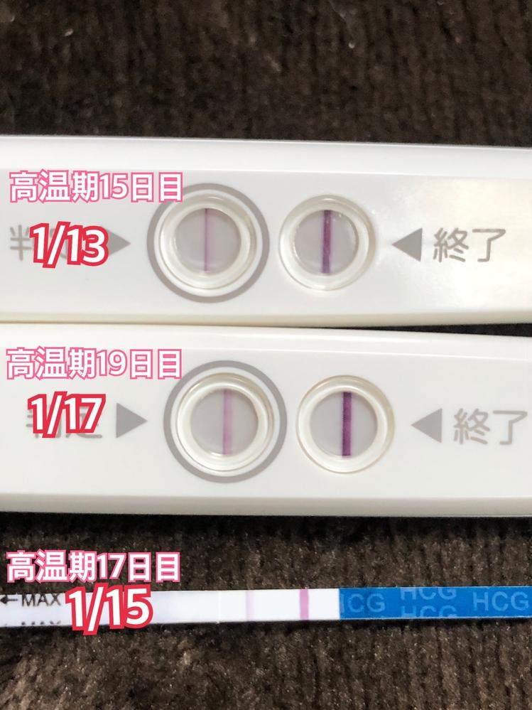 現在タイミング法で 妊活をしています。 12/28に卵胞が21に 育っていたのと基礎体温の 下がり方で恐らく12/29が 排卵日でした。 タイミングもうまくいき、 陽性が出ているのですが 今回...