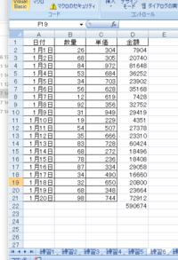 VBAでD列の数値を消したいです。  添付のようなデータがあり、D列の数値を消すために下記のVBAを書いたのですが、D22の値が残ってしまいます。 どのようにしたら、D22の値も消せるのでしょうか?  よろしくお願いします   Sub クリア3()  Dim i As Long  For i = 2 To Cells(Rows.Count, 1).End(xlUp).Row...