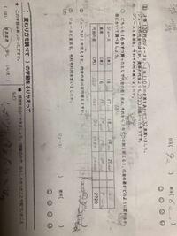 【至急】小学六年生 算数 変わり方 の問題です。 ❸の解き方が分かりません。  教えていただけると嬉しいです。