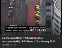 UK、1日に1,600人死亡?  卓球界にも激震が走りますか?