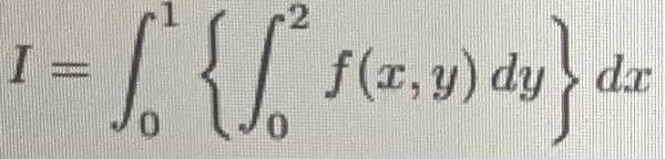 積分順序を交換すると言う問題のやり方がわかりません。どなたか教えてほしいです。
