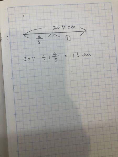 算数の割合の考え方を教えてください。 写真のような計算式にどうしてなるのでしょうか。 4/5は1️⃣と比べて4/5という意味です。 割合の求め方がよくわかっていません。 全体の数を全体の割合...