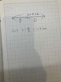 算数の割合の考え方を教えてください。 写真のような計算式にどうしてなるのでしょうか。  4/5は1️⃣と比べて4/5という意味です。  割合の求め方がよくわかっていません。 全体の数を全体の割合で割るとなぜ1️⃣の数が出るのでしょうか。