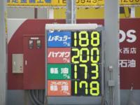 このガソリン価格を見てどう思いますか