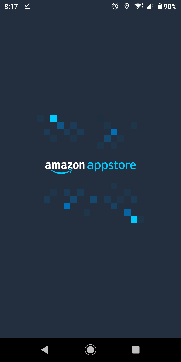 Amazonアプリストアが起動しません 再インストールも駄目でした 写真の状態で固まります。 環境は Xperia XZ2 compact Android 10 解決方法を教えてください。