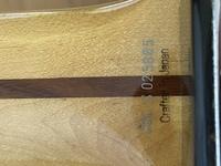フェンダージャパンのテレキャスターです このシリアルナンバーは何年製造ですか? CraftedinJapan表記S0+5桁のダイナ製で2007年で合ってますか?
