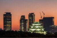 これは名古屋市の風景です。名古屋城の後ろには高層ビルが見えますね。熊本駅前の再開発が進んだら福岡のように航空法による高さの制限がないのでこのような光景が見られるようになってほしいですよね?