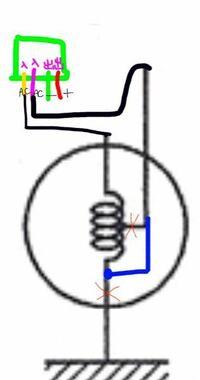 バイクの全波整流について質問です! 写真のようなジェネレーターの場合、全波整流にするには青線のように加工して全波整流用のレギュレーターレクチファイヤーを買って、写真のように繋げばokですか?
