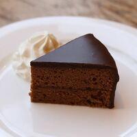 ガトーショコラとザッハトルテってどっちが 美味しいの? (*´꒳`*)b  画像はザッハトルテ。