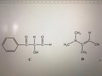 簡略構造式で次の物質はどのように表すことができますか?