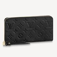 ルイ・ヴィトンの財布について質問です ルイ・ヴィトンのジッピー・ウォレット (M61864、色:ノワール、素材:モノグラム・アンプラント)の購入を考えているのですが、こちらのデザインは通年で買える(一年中買える...
