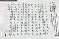 この漢文の書き下し文と口語訳をお願いします。