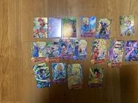 小学生の頃のドラゴンボールヒーローズのカードです。全てプロモーション?です。この中で100円以上で売れるものはありますか? 詳しい方回答よろしくお願いします。