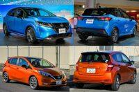 新型ノートに乗ると、トヨタ、ホンダのハイブリッド車は物足りなく感じますか?  完全モーター駆動のe-POWER。