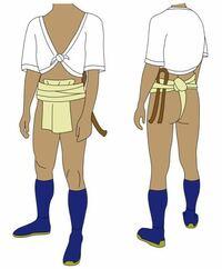 アニメ・漫画・ゲームのキャラでふんどし祭りに参加しそうなのは?(複数あり)参加して欲しいキャラは?(複数あり) ちなみに参加したキャラは老若男女問わず、この画像の衣装を着用です。