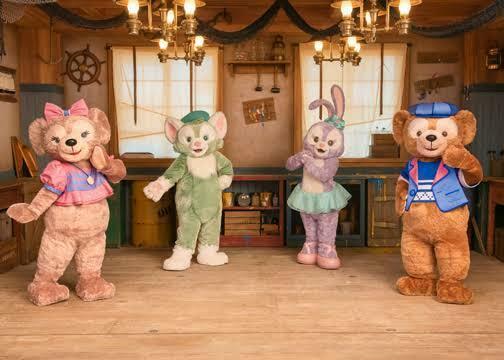 東京ディズニーランドでダッフィーのキャラクターグリーティングやグッズとショーの04月01日に出したらいいんじゃないですか。
