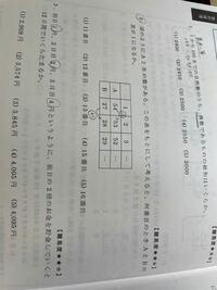 公務員試験の過去問の問題です。 数列の問題なんですが、2番の簡単な解き方があれば教えてください。
