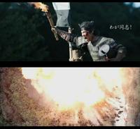 映画『燃えよ剣』には朝鮮人戦士が出ますか? 今年公開される映画「燃えよ剣」ですが、 この作品を撮った監督は 過去に同じく司馬遼太郎作品で岡田准一主演の映画「関ケ原」において なんの脈絡もなく「朝鮮人戦士」を登場させ観客を驚かせました。  朝鮮人戦士が最後に、島左近や西軍兵士と共に 「アイゴォッーーー!!!」と泣け叫び爆死するシーンでは あまりのことに立って出て行く客が居たとされます。   今...