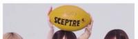 坂道パーツクイズ⊿其の270 画像のラグビーボールを頭にのせてる、のと  それを支えてるのは  現役または、元坂道メンバーの  左から誰と誰と誰でしょう?