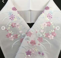 この刺繍の半襟って訪問着に合わせられますか?フォーマルな会食ではなく、内輪の食事会に着用予定です。