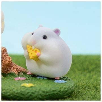 ハムスターのフィギュア こんにちは。ネットで見かけたハムスター(ネズミ?)のフィギュアの商品名が思い出せません>< ・中国のもの ・1箱1200円くらい ・こぶしくらいな大きさ ・...