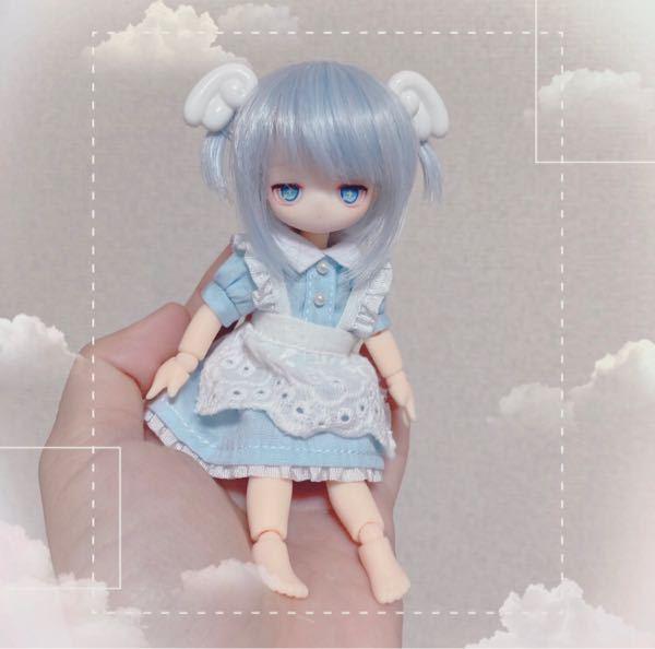 こんな感じの人形って作れますか? 見た瞬間可愛くて作りたいです。 作り方やどこで買えばいいとか教えてください。