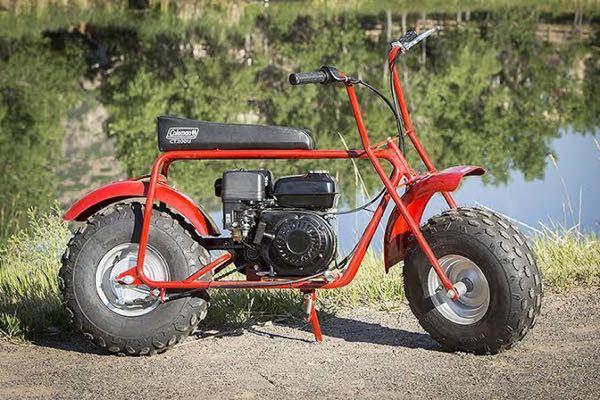 バイクについて詳しい人にお伺いします。 こちらのバイクColeman ct200U 196cc というものなのですがこちら、公道は走れるのでしょうか? 教えていただきたいです。