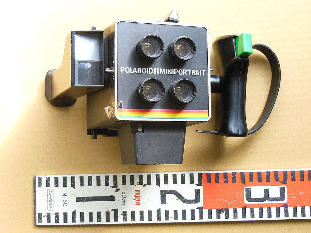 このカメラ関係の使用目的/正式名称が知りたいです。 「POLA ROID MINPORTRAIT MULTIPLE IMAGE IMSTANTPICTURE CAMERA」 とあります。 宜...