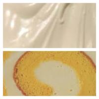 ロールケーキの生クリームがゆるゆるな理由が分かりません。 ロールケーキを何度か作ったのですが、必ず生クリームがゆるゆるになります(もちろん冷蔵庫で数時間〜半日程度馴染ませてからカットしています)。  生クリーム(動物性43%)を泡立てるときは氷水に当ててホイップしていますし、器具などの汚れも気を付けているのですが、それなりに泡立ててみてもすごく泡立ててみても結局数時間後にはゆるゆるになってカ...