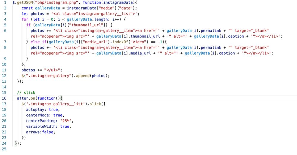 jQueryの付与したクラスを動かす方法 jQuery・PHP・HTML・CSSを使ってインスタグラムの埋め込みが出来たのですが、その後にランダム表示を実装するべく、画像のランダム表示など調べて...