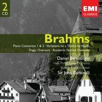 このCDはもう今はAmazonなどには売っていないのでしょうか。ブラームス楽曲CD2枚組み。 ダニエル・バレンボイム(ピアノ)バルビローリ指揮メジャーオーケストラのブラームスピアノ協奏曲第1番と第2番が両方同...