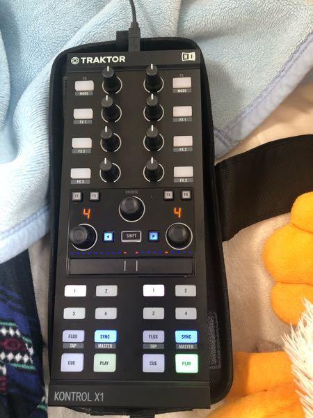 DJ機材の tracktor kontrol X1 MK2について質問です。 自分はDJをはじめたくて 友人からこの機材を買った方がいいと言われたので買いました。ちなみにジャンルはテクノ、ハウス...