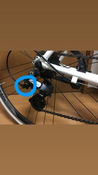 クロスバイクのシフトワイヤーでギアと接触する部分!?!?  のスプリングって必要ですか?なかったらどうなりますか??  画像参照