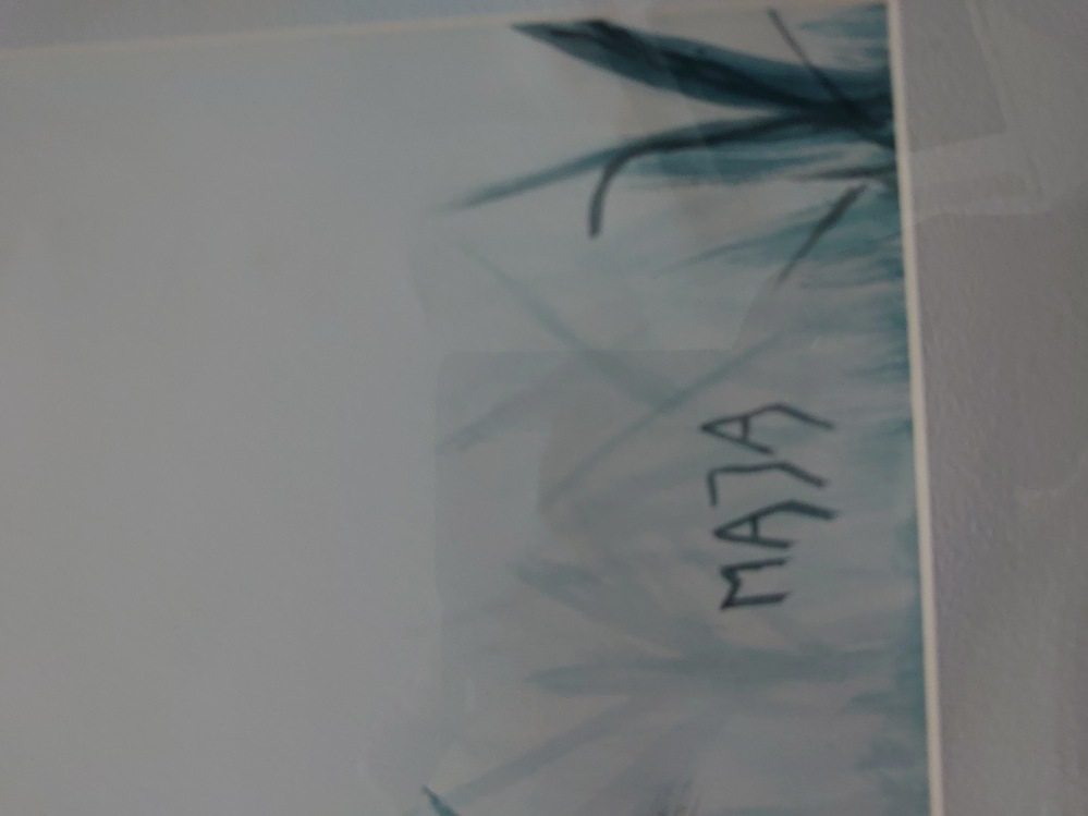 このサインが誰か分かりますか? 教えてください。