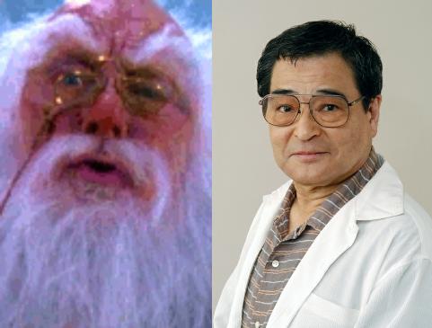 ワーナー映画ソフト版『ネバーエンディング・ストーリー3』に出てくる俳優、 コリアンダー役〈フレディ・ジョーンズ〉の声は飯塚昭三さんですか。