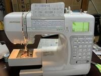 ジャノメミシンのS7800の文字の大きさは、変更できますか? その操作を教えて下さい。 宜しくお願い致します。