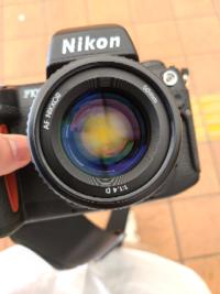 Nikon f100とDタイプの50mmf1.4を使用しています。 このくらいの大きさのゴミだと映り込みはしますか? まだ、ゴミを発見してから現像して確認はしていません。
