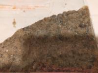 ドラム缶洗濯機を洗濯槽クリーナーで掃除したら砂のようなゴミがたくさん出てきました。これはなんですか?気になります。