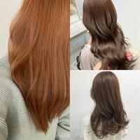 写真の左の髪色から右のような髪色にしたいのですが、ブリーチなしでもできると思いますか?