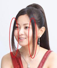 ヘアースタイルに付いてお尋ねします。 この髪に名前はありますか? 細く垂らしたこのスタイルの名前が知りたいです。 ご存知の方、よろしくお願いします。