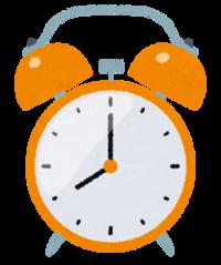 目覚まし時計は使う人? (^。^)b  1、いつも使ってる 2、たまに使ってる 3、使ったり使わなかったり 4、使わない