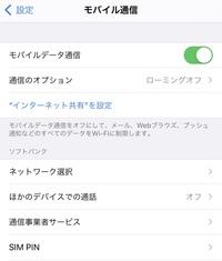 ソフトバンクで購入したiPhone12をsimロック解除し、楽天のnanoSIMで使用したいのですが、iPhoneの設定画面にvolteの項目もなければ、 モバイルデータ通信ネットワークの項目もないです。 この端末では楽天回線...